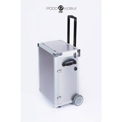 Maxi Pedicure Trolley Brush Silver