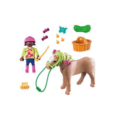 Playmobil Plus Meisje met pony