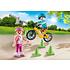 Playmobil Playmobil Plus 70061 Kinderen met fiets en skates