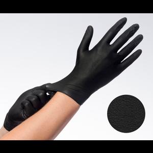 Soft nitril zwart poedervrij S-M-L