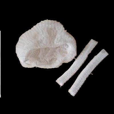 naamloos Haarnetjes wit plat