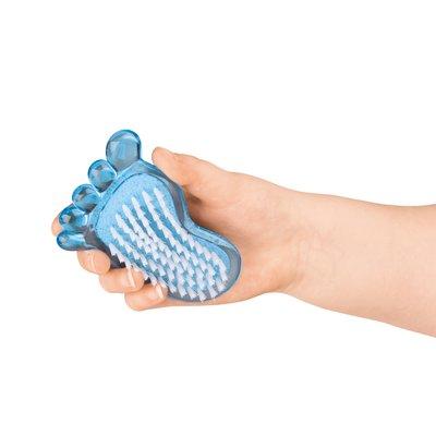 Nagelborstel & puimsteen voetje ( Voorraad 13 stuks OP=OP)
