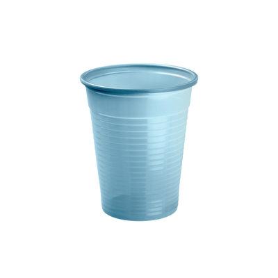 Drinkcups plastic lichtblauw 180 ml
