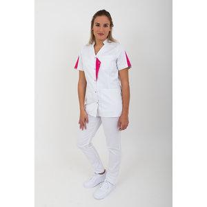 SHAE Damesjas Isla wit/pink