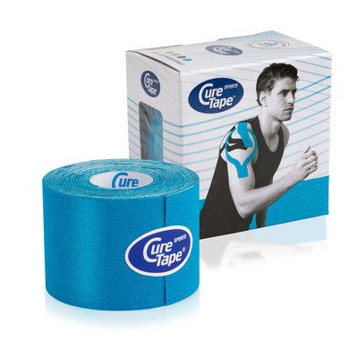 CureTape CureTape Sports 5cm x 5cm BLAUW