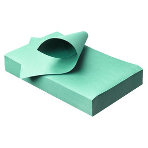 Traypapier Touch of colors mint groen