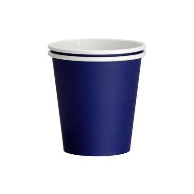Drinkcups karton midden blauw