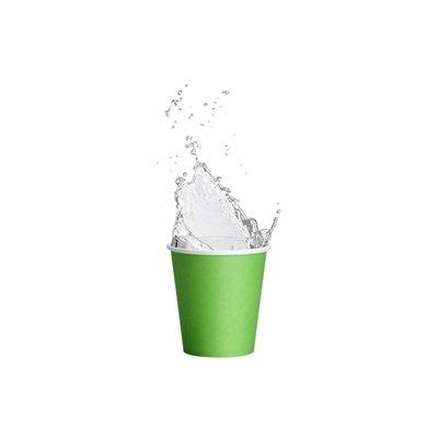 Drinkcups karton fresh green