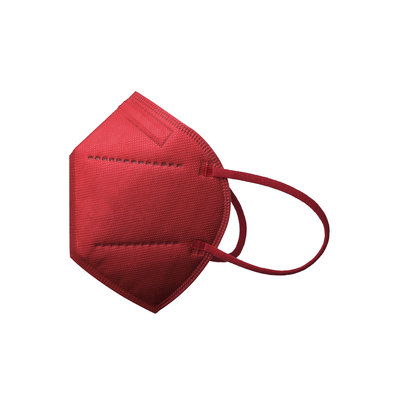FFP2/ KN95 mondmasker rood