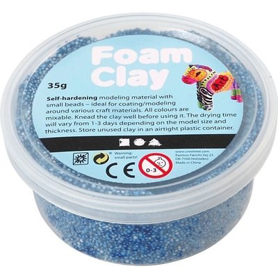 Foam Clay 35 gr. blauw