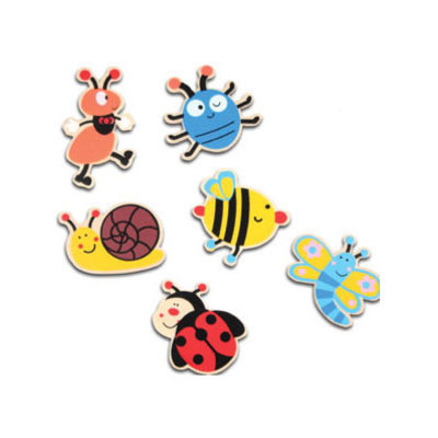 Houten deco figuurtjes insect