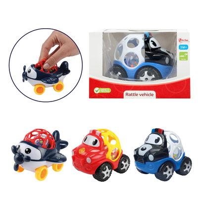 Baby rammelaar blij voertuig