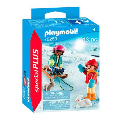 Playmobil Plus 70250 Kinderen met slee