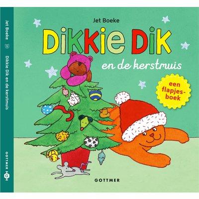 Dikkie Dik en de kerstmuis (flapjesboek)