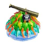 Snoeptaart Piraat (35 pers.)