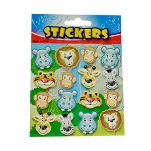 Stickervel wilde dieren