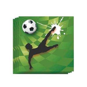 Servetten Voetbal