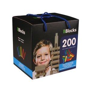 BBlocks BBlocks 200 stuks in doos gekleurd