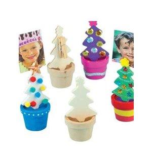 Kerstboom foto- of notitiehouder ( nog 2 stuks leverbaar )