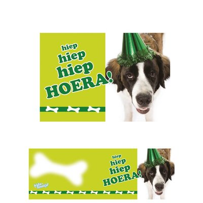 Traktatiekaartje Party Dog