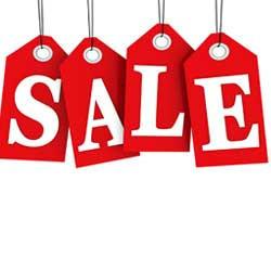 Cadeau Sale & Low in Stock