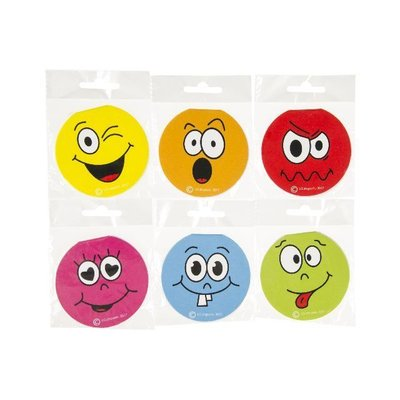 Memoblokje Funny Faces