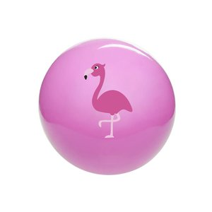 Bal flamingo (on-opgeblazen) ( Voorraad 27 stuks OP=OP)