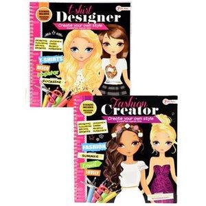 Mode design boek (8 stuks, OP=OP)