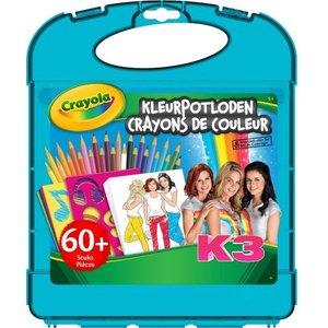 Crayola K3 Kleurpotloden koffer