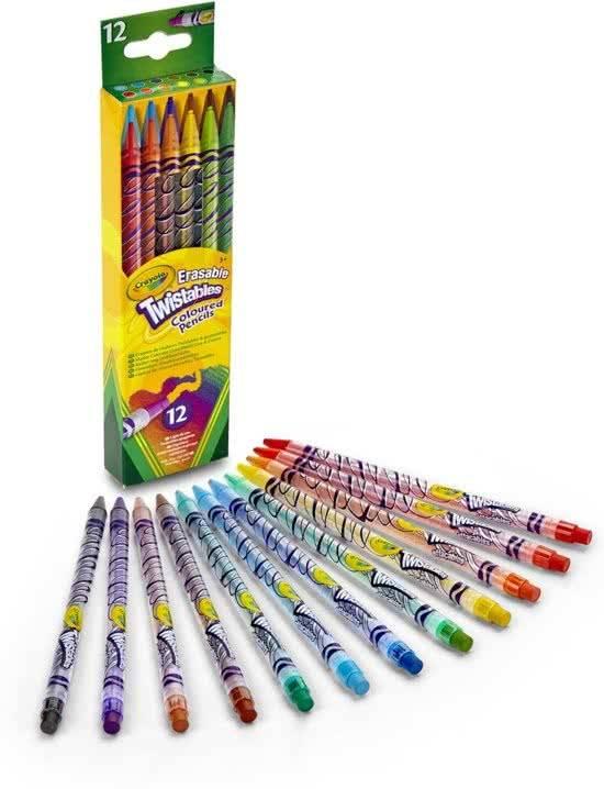 Crayola Crayola 12 Draaikleurpotloden - ABCAkids.nl