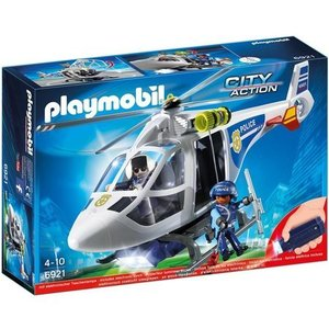 Playmobil Politiehelikopter met LED-zoeklicht Playmobil