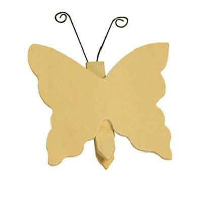 Magneet en knijper vlinder VOORRAAD: 21 STUKS OP=OP