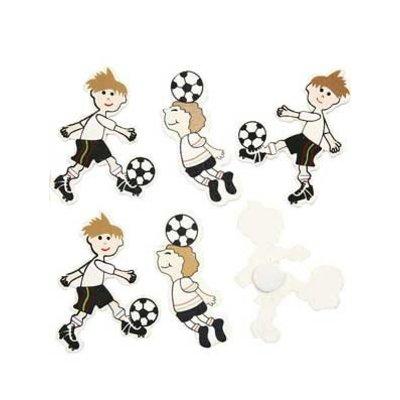 Deco figuurtjes voetballer hout