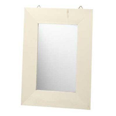 Spiegel hout ( nog 4 stuks op voorraad )