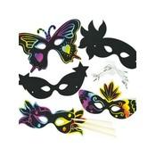 Kraskunst Maskers Fantasy ( nog 1 x op voorraad )