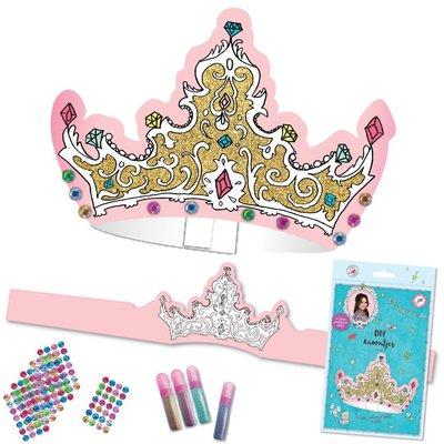 Kroontjes versieren set