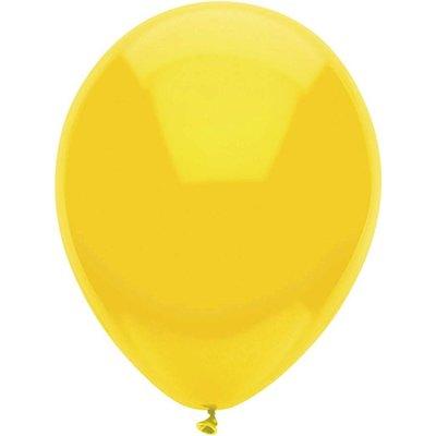 Ballonnen geel 25 cm