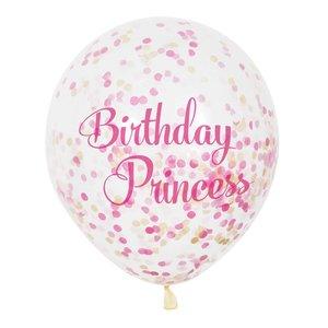 Confetti Ballonnen Prinses ( nog 1 x leverbaar )