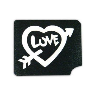Tattoo Sjabloon Love