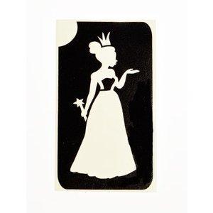 Tattoo Sjabloon Prinses