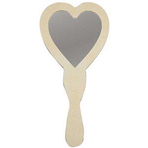 Handspiegel hart ( nog 9 stuks leverbaar )