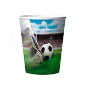 3D beker voetbal