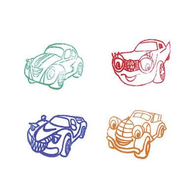 Stempel auto 3-D