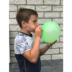 Opblaasbare puffer bal ( Voorraad: 38 stuks OP=OP)