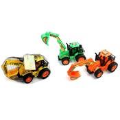 Tractor met grijparm ( Voorraad 6 stuks OP=OP)