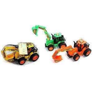 Tractor met grijparm ( Voorraad 4 stuks OP=OP)