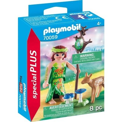 Playmobil Plus 70059 Nimf en hertenkalf