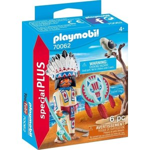 Playmobil Playmobil Plus 70062 Inheems stamhoofd (EIND OKTOBER BINNEN)