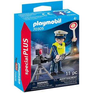 Playmobil Playmobil Plus 70305 Politieman met flitscontrole