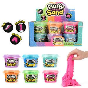 Fluffy cotton sand ( VOORRAAD 20 STUKS OP=OP)